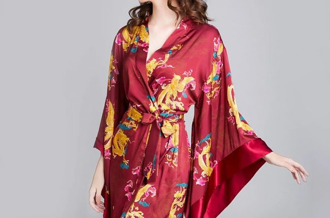 Buy The Lady A Silk Kimono Robe, As The Best Present For Women